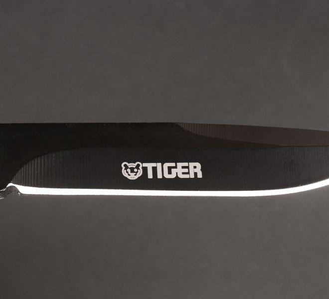 Oznakowany nóż za pomocą graweru